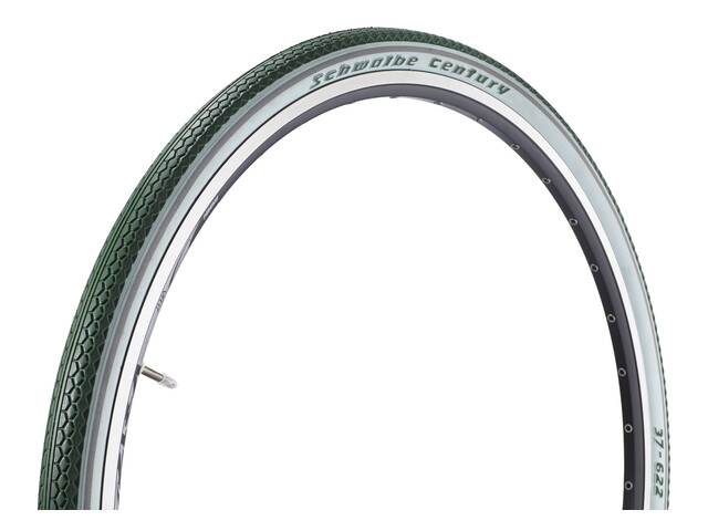 "SCHWALBE Century Active 28"" Draht racing green/white-Reflex"